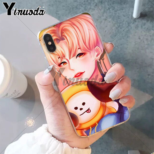 Yinuoda BTS Korea Bangtan Boys Young Forever JUNG KOOK Phone Accessories Case For Apple IPhone 8 7 6 6S Plus X XS MAX 5 5S SE XR