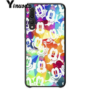 Yinuoda Beauty Cartoon Mickey Minnie Mouse TPU Soft Silicone Phone Case Cover For Huawei P20 P10 Plus Mat 9 Mat 10 Mobile Cases