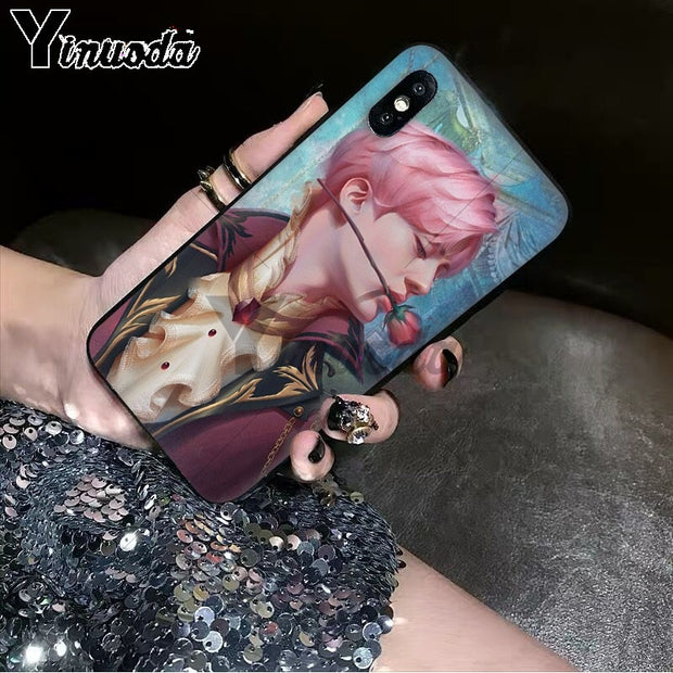 Yinuoda Boys Young Popular Star Art BTS Customer High Quality Phone Case For Apple IPhone 8 7 6 6S Plus X XS MAX 5 5S SE XR