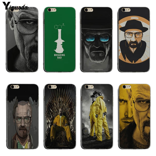 Yinuoda Breaking Bad Chemistry Walter Lovely Phone Accessories Case For IPhone XS Max XS XR 6S 6Splus 7 7plus 8 5s Se