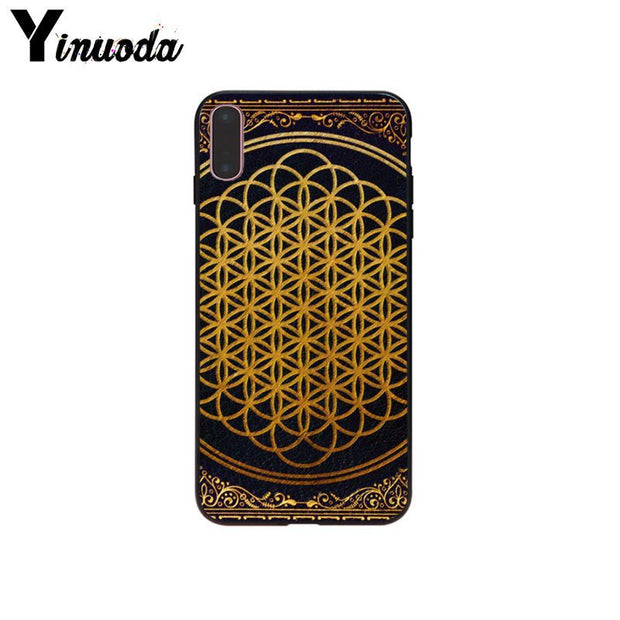 Yinuoda Bring Me The Horizon Dust Proof Phone Shell For IPhone X XS MAX 6 6s 7 7plus 8 8Plus 5 5S SE XR Cover