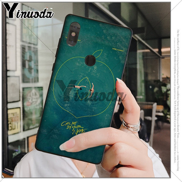 Yinuoda Call Me By Your Name Protector Case For Xiaomi Mi 6 8 Se Note2 3 Mix2 Redmi 5 5plus Note 4 5 5 Case Coque