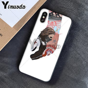 Yinuoda Captain America Civil War Winter Soldier Novelty Fundas Phone Case Cover For IPhone 5 5Sx 6 7 7plus 8 8Plus X XS MAX XR