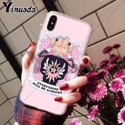 Yinuoda Card Captor Sakura KINOMOTO DIY Painted Beautiful Phone Accessories Case For IPhone 8 7 6 6S Plus X XS Max 10 5 5S SE XR