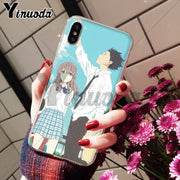 Yinuoda Cartoon A Silent Voice All Kind Of Color Anime Soft TPU Silicone Phone For IPhone 8 7 6 6S Plus X XS Max 10 5 5S SE XR