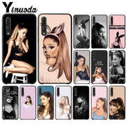 Yinuoda Cat Ar Ariana Grande TPU Soft Phone Case For Huawei P10 Plus 20 Pro P20 Lite Mate9 10 Lite Honor 10 View10 Cases