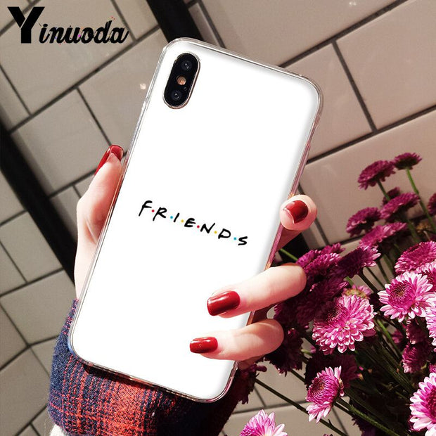Yinuoda Central Perk Coffee Friends Tv Show Coque Shell Phone Case For IPhone X XS MAX 6 6s 7 7plus 8 8Plus 5 5S SE XR