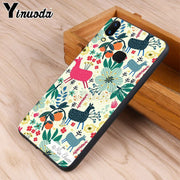 Yinuoda Christmas Day Pattern Unique Design High Quality Phone Case For Vivo V9 V7 Y83 X20 X20plus X21 Plus Nex S Case Coque