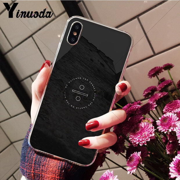 Yinuoda Creators Ed Sheeran Design Customer High Quality Phone Case For IPhone X XS MAX 6 6s 7 7plus 8 8Plus 5 5S SE XR