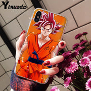 Yinuoda Dragon Ball Dragon Ball Z Coque Shell Phone Case For Apple IPhone 8 7 6 6S Plus X XS MAX 5 5S SE XR Cover