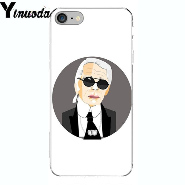 Yinuoda Fashion Karl Lagerfeld Novelty Fundas Phone Case Cover For Apple IPhone 8 7 6 6S Plus X XS MAX 5 5S SE XR Cellphones