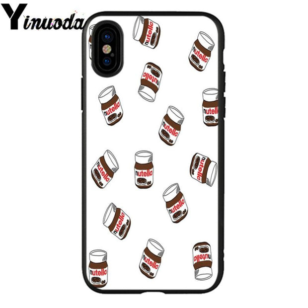 Yinuoda Food TPU Soft Silicone Phone Case Cover For IPhone X XS MAX 6 6s 7 7plus 8 8Plus 5 5S SE XR