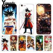 Yinuoda For Iphone 7 6 X Case Dragon Ball Z Goku DragonBall Coque Phone Case For IPhone 8 7 6 6S Plus X 5 5S SE XR XS XSMAX