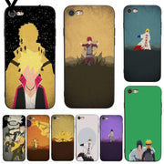 Yinuoda For Iphone 7 6 X Case Naruto Minimalist Coque Shell Print Phone Accessories Case For IPhone 7 6 X 8 6s Plus 5 5S XS XR