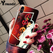 Yinuoda G Dragon Peaceminusone Colorful Cute Phone Accessories Case For Apple IPhone 8 7 6 6S Plus X XS MAX 5 5S SE XR Cases