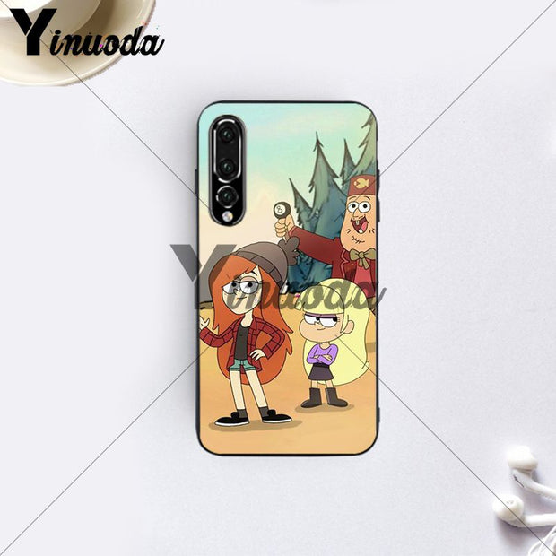 Yinuoda Gravity Falls Hard Cute Wonderful Patternd Case For Huawei P10 Huawei P20 Pro P20 Lite Mate 10 Mate 10 Lite Cover