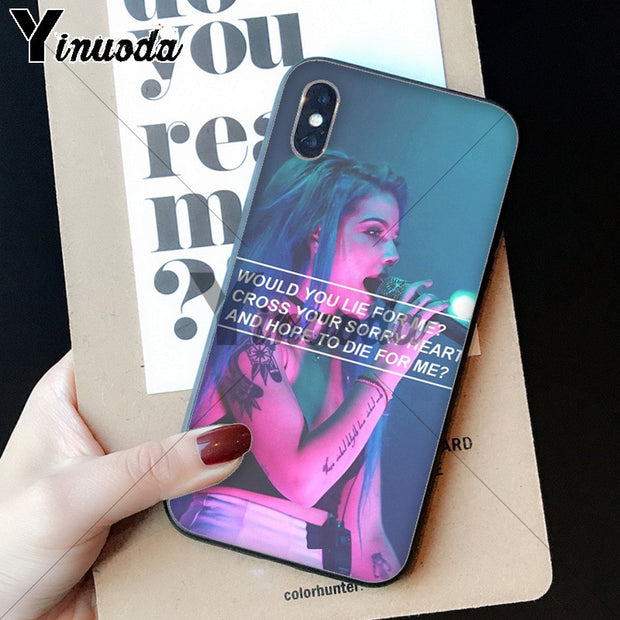 Yinuoda Halsey Hopeless Fountain Kingdom Coque Shell Phone Case For Apple IPhone 8 7 6 6S Plus X XS MAX 5 5S SE XR Mobile Cover