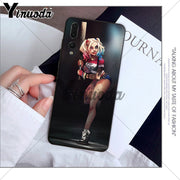 Yinuoda Harley Quinn Suicide Squad Joker Wink Phone Case For Huawei P10 Plus 20 Pro P20 Lite Mate9 10 Lite Honor 10 View10 Shell