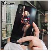 Yinuoda Harley Quinn Suicide Squad Joker Wink Phone Cover For Xiaomi Mi 6 8 Se Note2 3 Mix2 Redmi 5 5plus Note 4 5 5 Cases