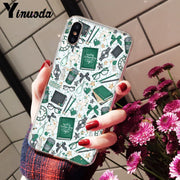 Yinuoda Harry Potter Customer High Quality Phone Case For IPhone X XS MAX 6 6S 7 7plus 8 8Plus 5 5S XR