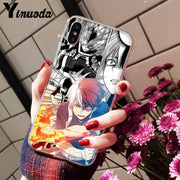 Yinuoda Japan Anime My Hero Academia One Piece TPU Silicone Phone Case For IPhone 8 7 6 6S Plus 5 5S SE XR X XS MAX Coque Shell