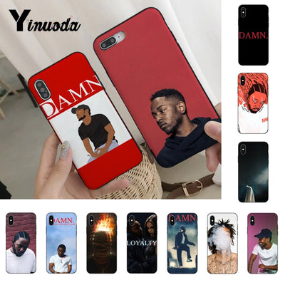 Yinuoda Kendrick Lama High Quality Phone Accessories Cover For IPhone Xr XsMax 8 7 6 6S Plus Xs X 5 5S SE 5C Cases