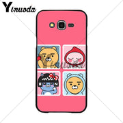 Yinuoda Korean Cartoon Funny Cocoa Friend Colorful Phone Accessories Case For Samsung 2015J1 J5 J7 2016J1 J3 J5 J7 Note3 4 5