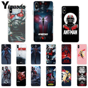 Yinuoda Marvel Ant Man DIY Painted Beautiful Phone Accessories Case For Apple IPhone 8 7 6 6S Plus X XS MAX 5 5S SE XR