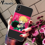 Yinuoda My Hero Academy Amazing Landscape Phone Case For Apple IPhone 8 7 6 6S Plus X XS Max 5 5S SE XR Mobile Cover