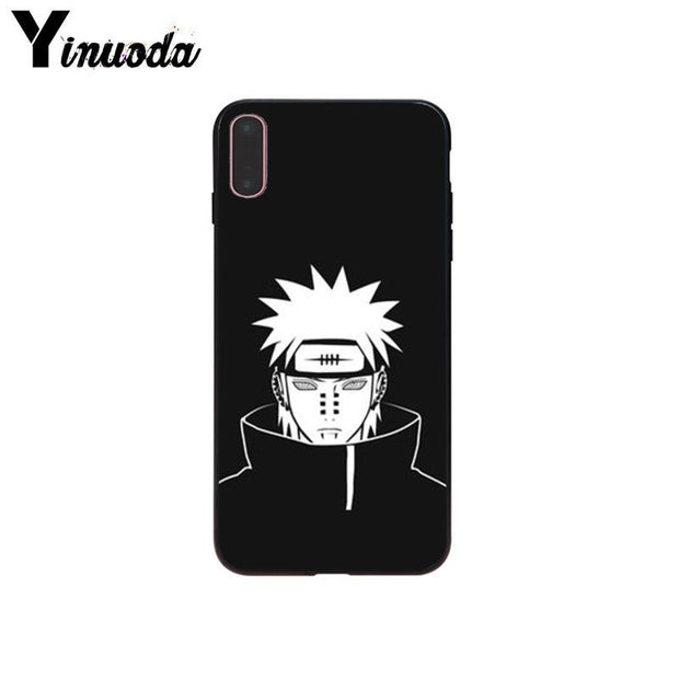 Yinuoda NARUTO Sasuke Uchiha Uzumaki Kakashi New Arrivals Phone Cover For IPhone 6S 6plus 7plus 8Plus X Xs MAX 5 5S SE XR Case