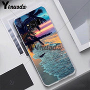 Yinuoda Scenery Flower SeaBeautiful Case For Samsung S5 S6 S7 S8 S9 S6plus S7plus S8plus S9plus S6edge S7edge S6edge Plus Cover