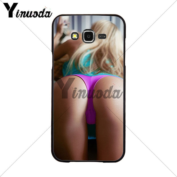 Yinuoda Sexy Ass Underwear Bikini Woman Girl Printing Drawing Phone Cover For Samsung 2015J1 J5 J7 2016J1 J3 J5 J7 Note3 4 5