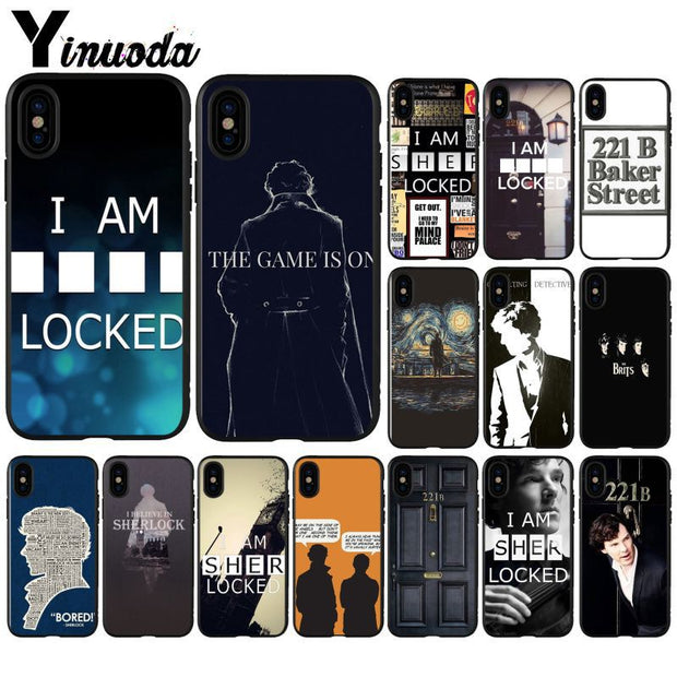 Yinuoda Sherlock Holmes Super Deal Mobile Case For IPhone I8 I7 I6 I6S Plus I5S IX IXR XS MAX Case Cover