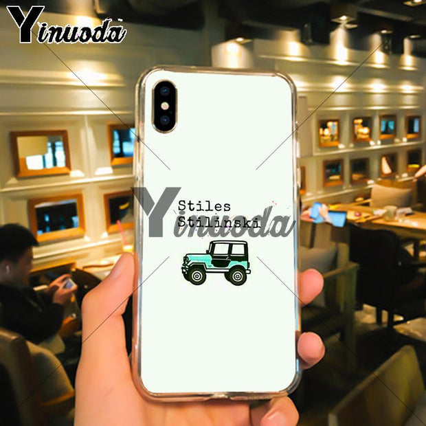 Yinuoda Teen Wolf TPU Soft Silicone Phone Case For IPhone 6S 6plus 7 7plus 8 8Plus X Xs MAX 5 5S XR