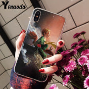 Yinuoda The Little Prince And The Fox Smart Cover Transparent Soft Shell Phone Case For IPhone 8 7 6 6S Plus X XS MAX 5 5S SE XR