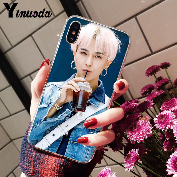 Yinuoda WINNER MINO KPOP Soft Silicone Transparent Phone Case For IPhone X XS MAX 6 6s 7 7plus 8 8Plus 5 5S SE XR