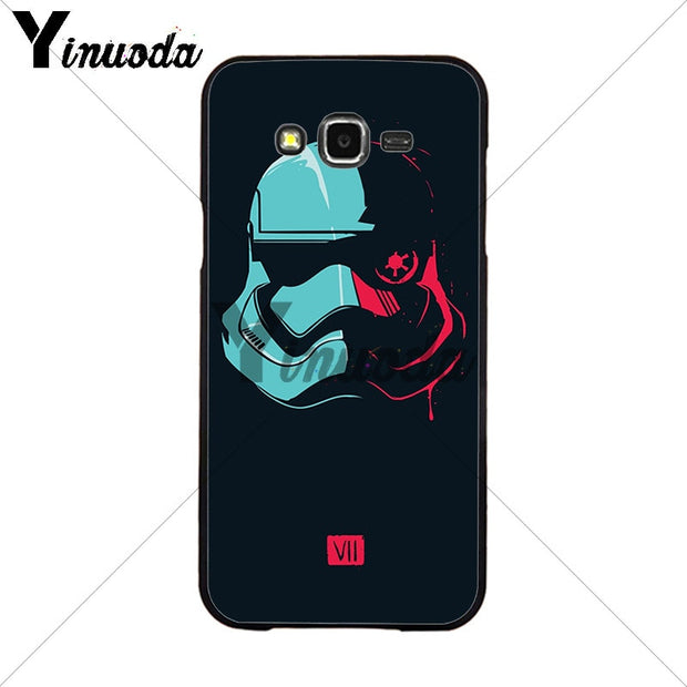 Yinuoda YODA STAR WARS The Force Awakens Phone Accessories Case For Samsung 2015J1 J5 J7 2016J1 J3 J5 J7 Note3 4 5 Coque Shell