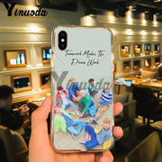 Yinuoda Youth Idol Wallpaper Dustproof Drop Resistance Case For IPhone 8 7 6 6S Plus 5 5S SE XR X XS MAX Coque Shell