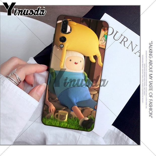 Yinuoda Adventure Time Beemo BMO Jake Finn Lumpy Case For Huawei P10 Plus 20 Pro P20 Lite Mate9 10 Lite Honor 10 View10 Cover