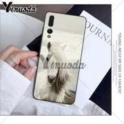 Yinuoda Andalusian Horse Black Soft Shell Phone Cover For Huawei P10 Plus 20 Pro P20 Lite Mate9 10 Lite Honor 10 View10 Case