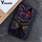 Yinuoda Five Nights At Freddy's Fnaf Freddy Newly Arrived Cell Phone Case For Apple IPhone 8 7 6 6S Plus X XS MAX 5 5S SE XR