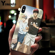 Yinuoda Kuroko's Basketball DIY Luxury High-end Protector Case For IPhone 8 7 6 6S Plus 5 5S SE XR X XS MAX Coque Shell