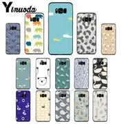 Yinuoda Little PatternedSmall And ExquisiteCase For Samsung S5 S6 S7 S8 S9 S6plus S7plus S8plus S9plus S6edge S7edge S6edge Plus