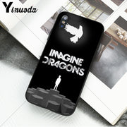 Yinuoda Night Music Imagine Dragons Music Newly Arrived Cell Phone Case For IPhone 6S 6plus 7 7plus 8 8Plus X Xs MAX 5 5S XR