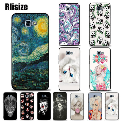Young Fashion Pattern Case For Galaxy A5 2017 Nice Soft TPU Silicone Back Cover Cases For Galaxy A520 A520F SM-A520F Shell 5.2''