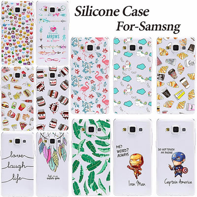 Young Fashion TPU Cover Case For Samsung Galaxy A3 2015 A300 A300F Soft Silicone TPU Back Cover For Samsung A3 2015 Phone Cases