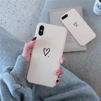Youth Culture Words Phone Cases For Iphone XS MAX XR X Matte Fashion Case Cute Cartoon Fundas For On Iphone 6 6S 7 8 Plus Back