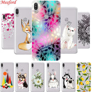 "ZB601KL Phone Case For Asus Zenfone Max Pro M1 ZB601KL Case 5.99"" Soft TPU Back Cover For Asus Zenfone Max M1 ZB601KL Case Coque"