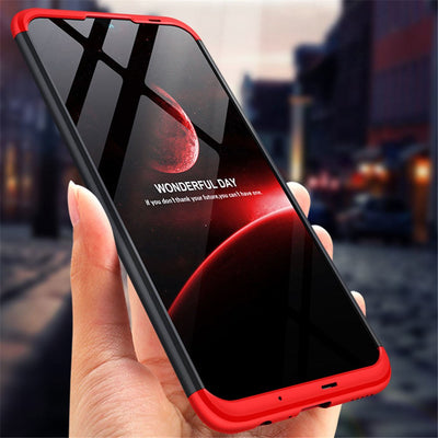 ZFTANG Case For Huawei Honor 10 Lite Case Shockproof Matte Hard PC 360 Full Protection For Coque Huawei Honor 10 Lite Case Cover