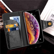 ZRSE Business Horse Leather Phone Cover For IPhone XS MAX Wallet Credit Card Phone Case For IPhone 8 7 Plus X XR 10 Soft Coque